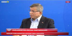 Davutoğlu,'One minute' dediği zaman dünyanın dikkatini çeken Erdoğan yok