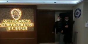 Polis aracıyla tur atan yabancı uyruklu kişi yeniden gözaltına alındı
