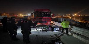 Gebze'de feci kaza ! Motosiklet sürücüsü hayatını kaybetti