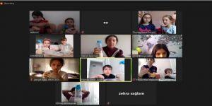 Kocaeli Bilim Merkezi'nden çevrimiçi deneyler