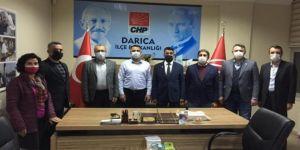 Saadet Darıca'dan CHP'ye ziyaret