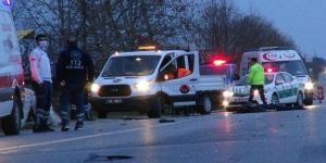 Kocaeli'de Trafik Kazası ! 1 kişi hayatını kaybetti