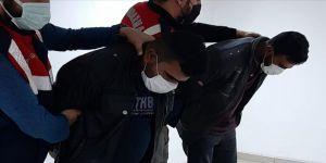 Eylem hazırlığındaki DEAŞ'lılar saklandıkları konteynerde yakalandı
