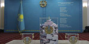 Kazakistan'da sandık çıkış anketine göre iktidar partisi Nur Otan önde