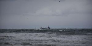 Karadeniz'de Rus bandıralı kuru yük gemisi battı