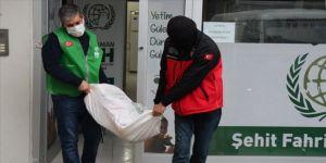 Adıyaman'da İHH'den ihtiyaç sahiplerine gıda yardımı