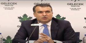 Gelecek Partisi İletişim Başkanı Mustafa Mente:Karar yazarları,susturulamazlar, yalnız değildirler