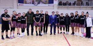 Elazığ'da FIBA Kadınlar Avrupa Kupası heyecanı yaşanıyor