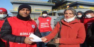 Baldur işçilerine uluslararası dayanışma