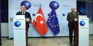 Dışişleri Bakanı Çavuşoğlu: Türkiye-AB ilişkilerinde pozitif atmosferin oluşturulması önemli