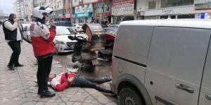 GebzeGüzeller Mahallesi Yeni Bağdat Caddesi üzerinde kaza meydana geldi