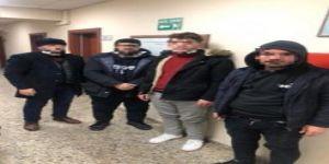 Dilovası'nda bulunan limanda 4 Kaçak göçmen yakalandı.