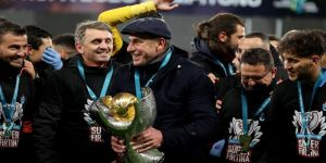 Trabzonspor Teknik Direktörü Avcı: Kupayı Trabzon şehrine, Trabzonspor taraftarına armağan ediyoruz