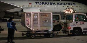 Kovid-19 aşısının 10 milyon dozluk sevkiyatının ikinci bölümü  Türkiye'de