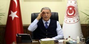 Milli Savunma Bakanı Akar, Türk-Rus Ortak Merkezi'ndeki faaliyetlere ilişkin bilgi aldı