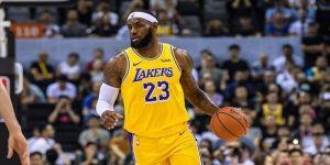 NBA'de Lakers Nuggets karşısında LeBron James ile kazandı
