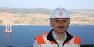 Bakan Karaismailoğlu: Çanakkale Köprüsü'yle, yılda 567 milyon lira tasarruf sağlayacağız