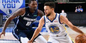 NBA'de Stephen Curry'nin 57 sayısı Warriors'a yetmedi