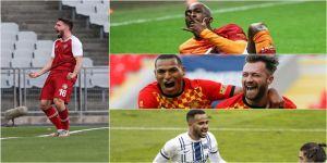 Süper Lig'de yenilerden 25 gol