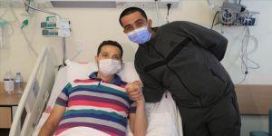 'Canım, ciğerim' dediği ağabeyini verdiği karaciğer dokusuyla hayata bağladı