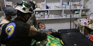 Esed rejiminden İdlib'e saldırı: 7 yaralı