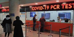 Ankara Esenboğa Havalimanı'ndaki test merkezinde antijen testlerine başlandı