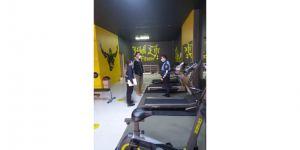 Zabıtadan spor salonu denetimi