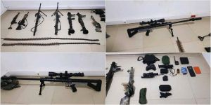 MSB: PKK'nın sivil vatandaşları canice şehit ettiği Gara'daki mağarada çok sayıda silah ve mühimmat bulundu