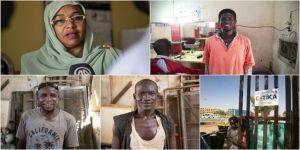 TİKA'nın madde bağımlılığından kurtulmalarına destek verdiği Sudanlı gençler meslek sahibi oldu