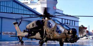 Emniyet Genel Müdürlüğüne ilk ATAK helikopteri teslim edildi