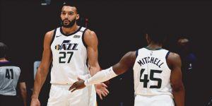 NBA'de Clippers'ı yenen Jazz serisini 9 maça çıkardı