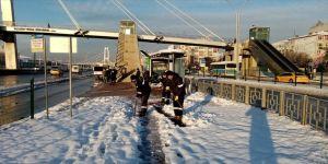 Sakarya Kocaeli ve Zonguldak'ta karla mücadele çalışmaları sürüyor