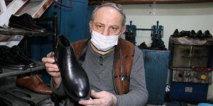 Batmanlı Orhan usta 40 yıldır el yapımı ayakkabı üretiyor