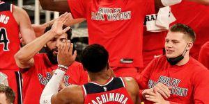NBA'de Washington Wizards galibiyet serisini 5 maça çıkardı