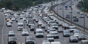 Trafiğe ocakta 117 bin 313 aracın kaydı yapıldı