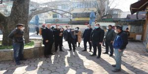 Çınarlatı Meydanı'nda çalışmalar başladı