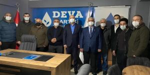İyi Parti Çayırova'dan,Deva Partisi Çayırova'ya ziyaret