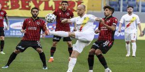 Gençlerbirliği ile Yeni Malatyaspor 1-1 berabere kaldı