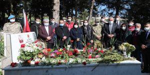 İdlib'de geçen yıl şehit olan askerler Hatay'da anıldı