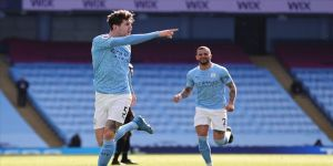 Manchester City'den Premier Lig'de peş peşe 14. galibiyet