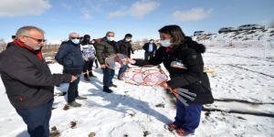 Doğu Anadolu'daki köylüleri badminton heyecanı sardı