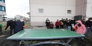 Gebzeli çocuklar okula-parka raketini alıp gidecek