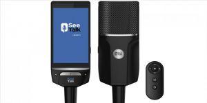 Yerli teknoloji 'SeeTalk', prompter ve mikrofonu buluşturdu