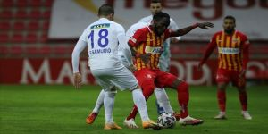 Kayserispor sahasında Çaykur Rizespor'u 2-1 yendi