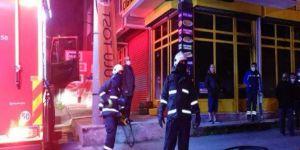 Gebze'de bir iş yerinde yangın çıktı
