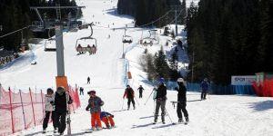 Son yağışlar Ilgaz Dağı'ndaki kayak merkezlerinde sezonu uzatacak