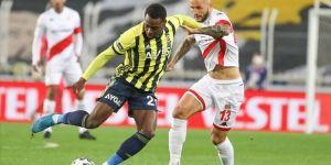 Fenerbahçe evinde yara aldı