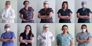 Koronavirüs savaşçısı kadınların en büyük dileği 'maskesiz hayat'