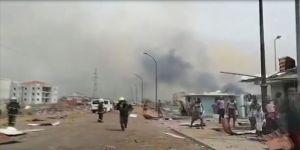 Dünya Sağlık Örgütünden patlama sonrası Ekvator Ginesi'ne yardım çağrısı