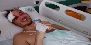 Yoğun bakımdaki futbolcu hayati tehlikeyi atlattı